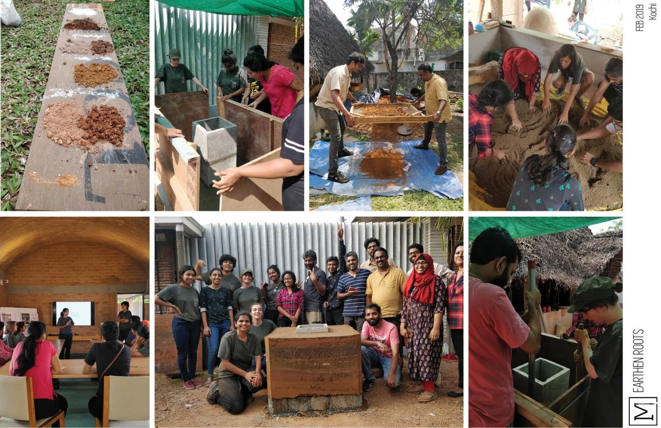 Mud Workshops| Mud Architecture_Rammed earth 05