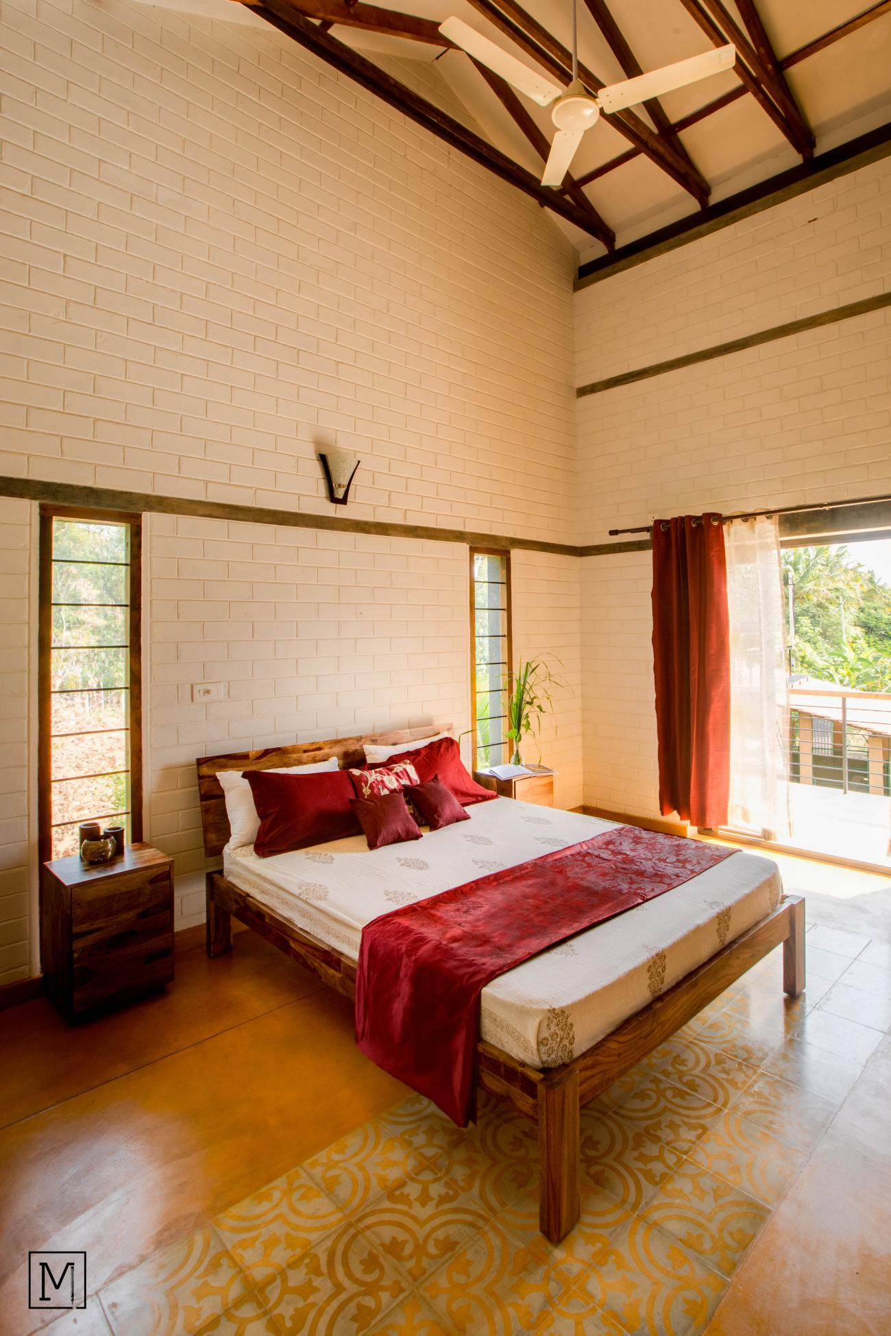 Yash Farms | Mud Architecture |CSEB |Rammed earth |Bengaluru |Bedroom_7