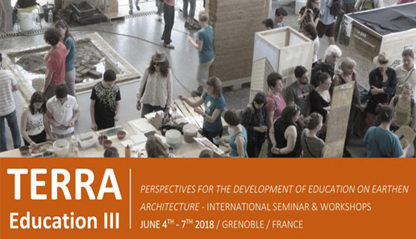 CONFERENCE TERRA EDUCATION, FRANCE 2018 Perspectives for Development